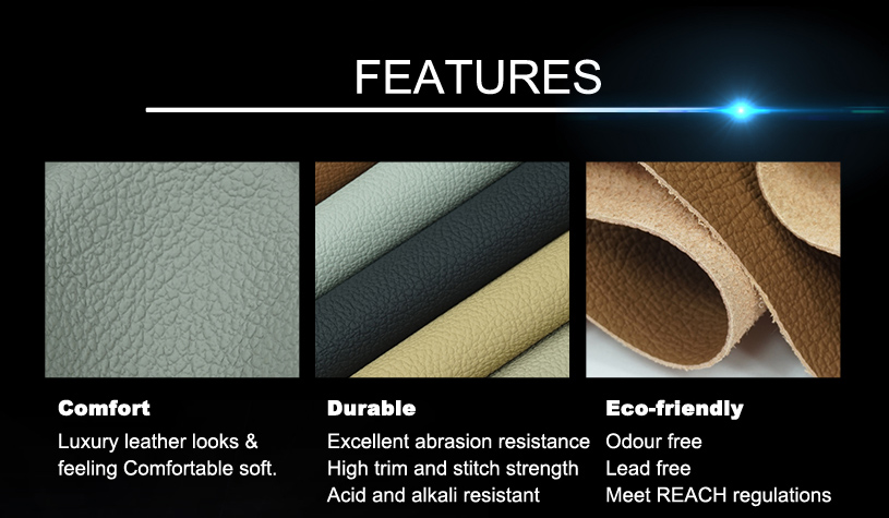 Best Quality Faux Leather Upholstery Fabric 05