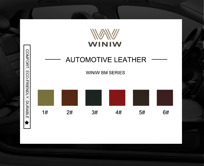 Best Quality Auto Upholstery Vinyl Leather 11