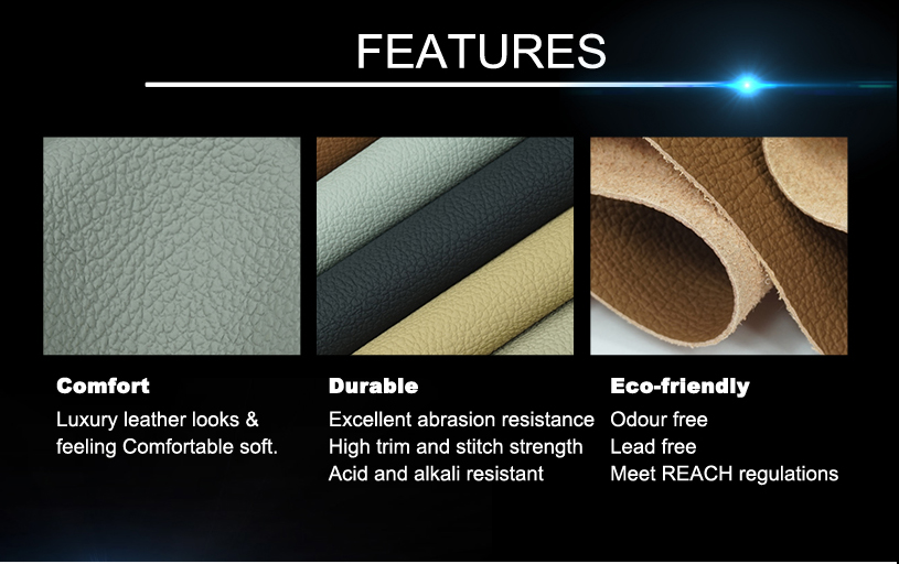 Car Leather Upholstery Fabric 14