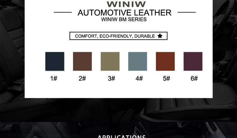 Car Seat Fabric Material 11