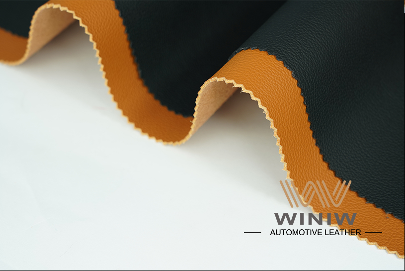 Durable Upholstery Leather Fabric 05