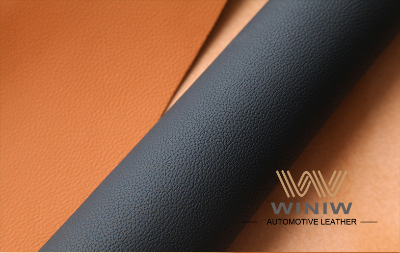 Durable Upholstery Leather Fabric 06