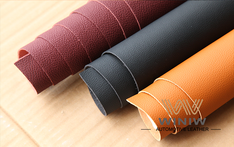 Durable Upholstery Leather Fabric 08