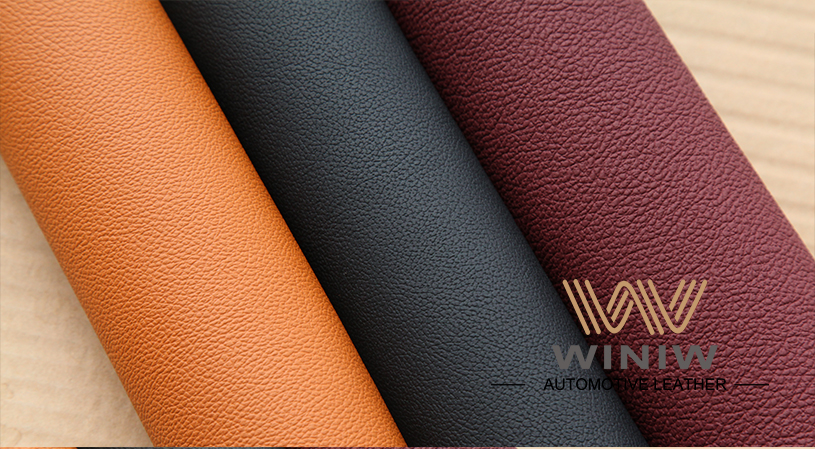 Durable Upholstery Leather Fabric 09
