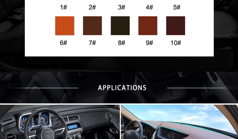 Suede Material for Cars 12