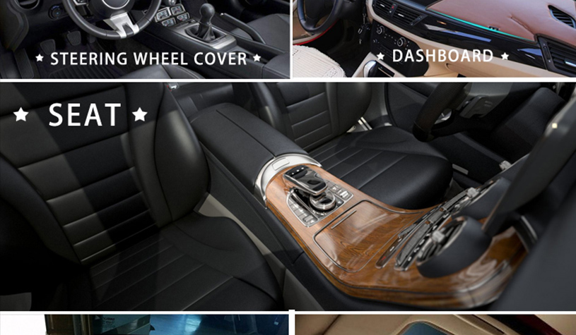 Suede Material for Cars 13