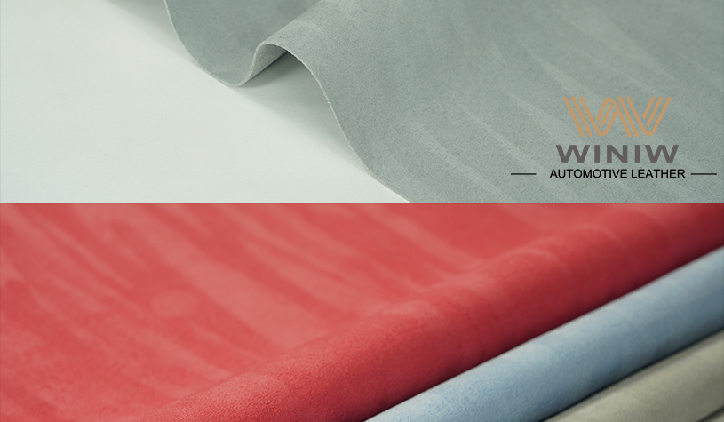 Suede Material for Cars 05